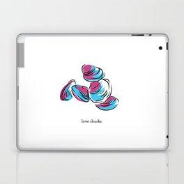 love shucks Laptop & iPad Skin