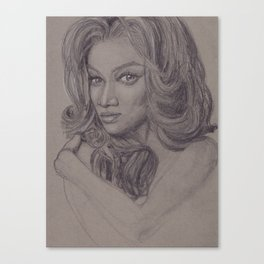 First African American : Tyra Canvas Print