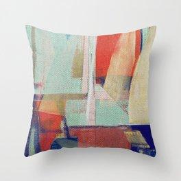 Stilt House 2 Throw Pillow