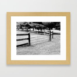 Open the Gate Framed Art Print