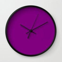 Patriarch - solid color Wall Clock
