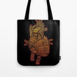Native Heart  Tote Bag