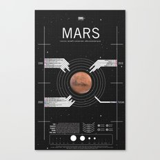 OMG SPACE: Mars 1990 - 2030 Canvas Print
