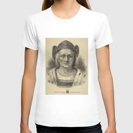Vintage Christopher Columbus Portrait (1892) T-shirt