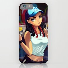 skater girl iPhone 6s Slim Case