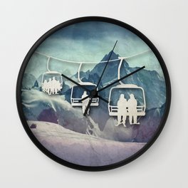 Lift Me Up Wall Clock