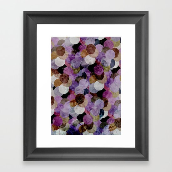 Circles III Framed Art Print
