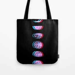 Moon Fluctuations Tote Bag