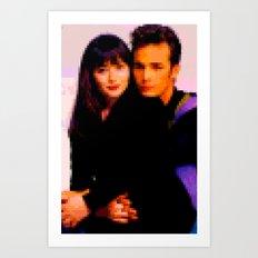 90210 Art Print