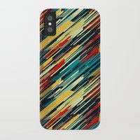 sweater iPhone & iPod Cases featuring 80's Sweater by Jacqueline Maldonado