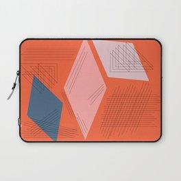 Mid Century Mod in Orange Laptop Sleeve