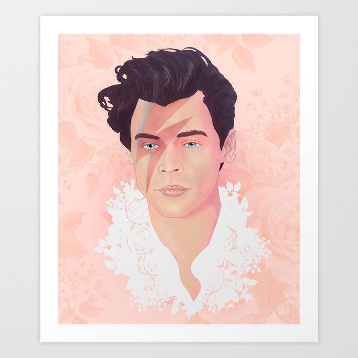 Harry Bowie Styles Art Print