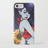 marceline iPhone & iPod Cases featuring Marceline Pin-Up by Natalie Nardozza