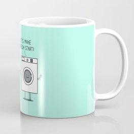 Clean start Coffee Mug