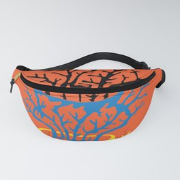 matisse coral Fanny Pack