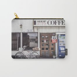 Bike and Coffee Shop in Kyoto Carry-All Pouch