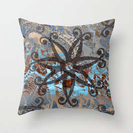 Ornaments Collage I Throw Pillow