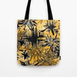 Yellow Chaos Tote Bag