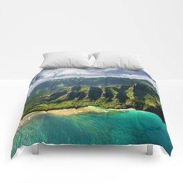 Island of Kauai, Hawaiian Islands Comforters