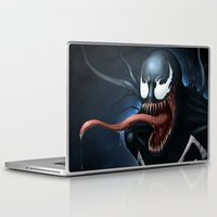 venom Laptop & iPad Skins featuring Venom by Fr0stArt