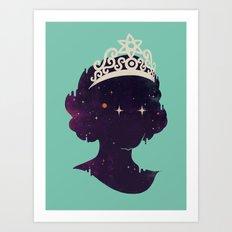 Miss U Art Print