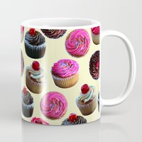 cupcakes Mugs featuring Cupcakes by Tangerine-Tane