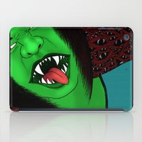 scream iPad Cases featuring Scream by Sabrina Kee