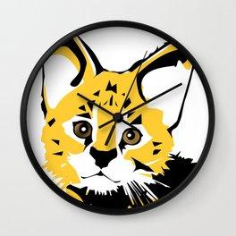 Serval 2 Wall Clock