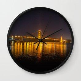 Simply San Fran Wall Clock