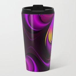 Purple Fire Travel Mug