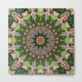 Lovely Mandala Metal Print