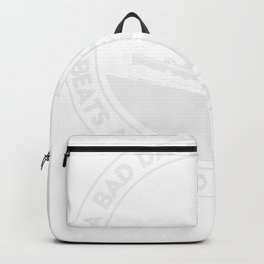 A Bad Day On The Slopes Beats A Good Day At Work Snowboarding Backpack