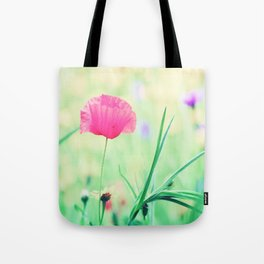 Poppy Romance Tote Bag