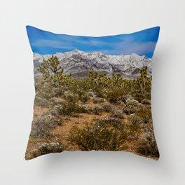 Desert Snow 4947 Throw Pillow