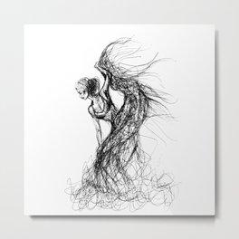 Flamenca Metal Print