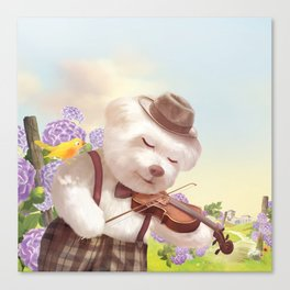 A Song For You Canvas Print