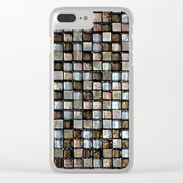Vega Qubic Africa Clear iPhone Case