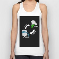 metal gear solid Tank Tops featuring Metal Gear: Solid Liquid States by Bendragon