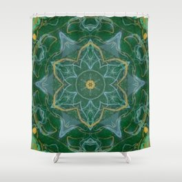 Blue Dreaming Shower Curtain