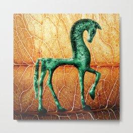 Etruscan Horse Metal Print
