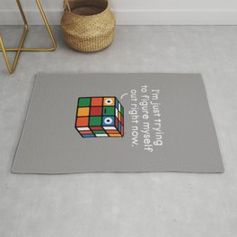 Back To Square One Rug