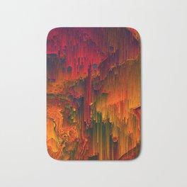 Toxic Rain - Pixel Art Bath Mat