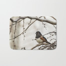 Spotted Towhee Bath Mat