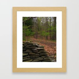 Mysterious Trails Framed Art Print