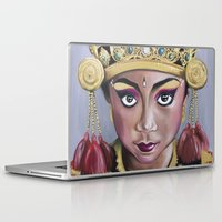 bali Laptop & iPad Skins featuring Bali Dancer by Marisa Jiménez