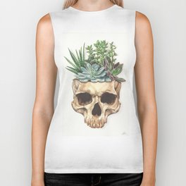 From Death Grows Life Biker Tank