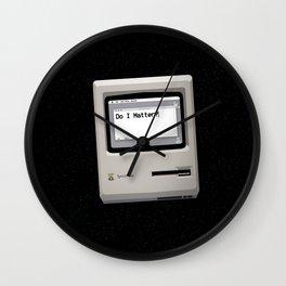 midnight introspection Wall Clock