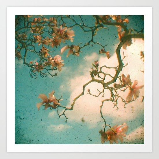Magnolia Falls Art Print