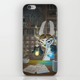The Lair of the Dark Bunny iPhone Skin