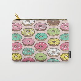 Donuts in Pink Carry-All Pouch